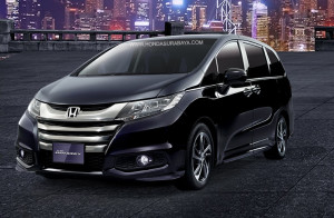 eksterior honda all new odyssey