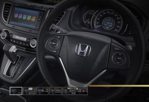 interior all new honda crv baru
