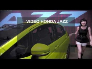 video honda jazz