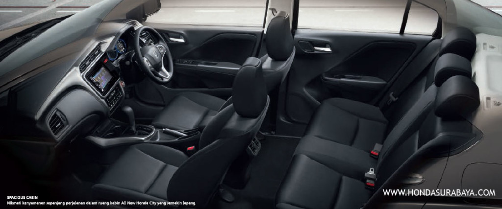 interior all new honda city