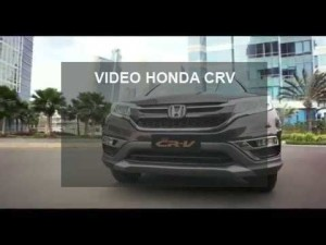 video honda crv